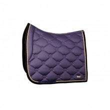 Dressage Saddle Pad, Grape, Monogram FULL